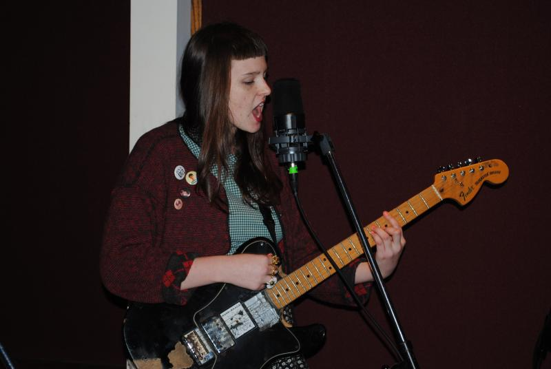 BB Tween on guitar and lead vocals