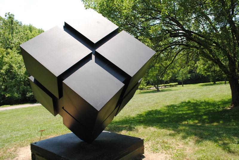 The Cube by Tony Rosenthal