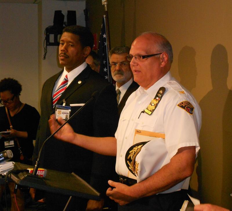 Cleveland chief deputy Ed Tomba