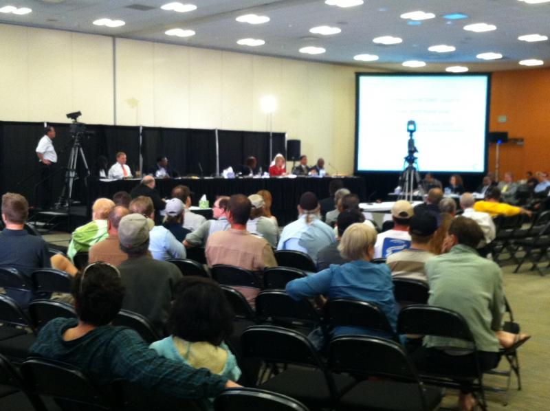 First of three public hearings on Cincinnati budget at Duke Energy Center