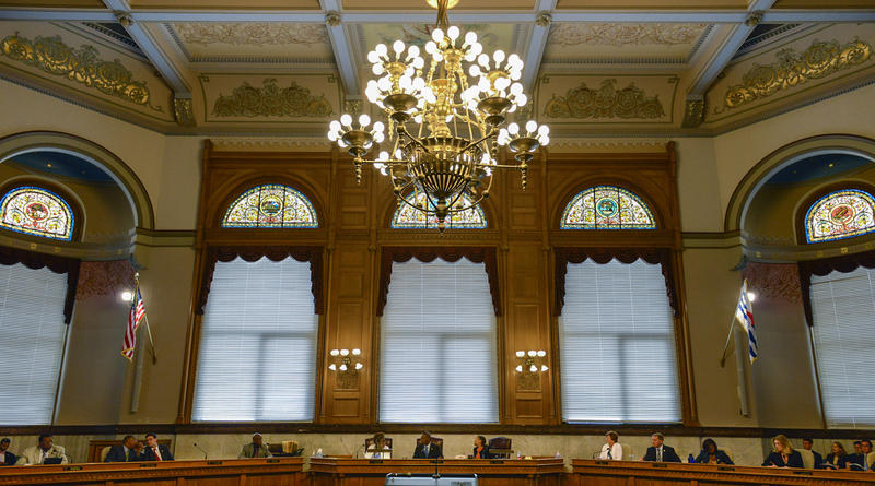 Cincinnati City Council chamber