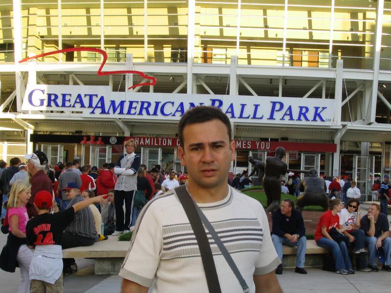 Carlos Moreno Lopez, Great American Ball Park, 2004