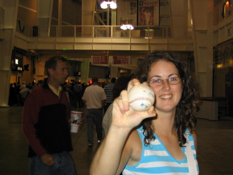 Davinia Navarro Castillo, Great American Ball Park, 2004