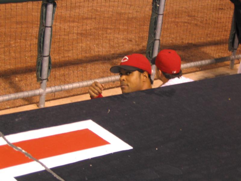 Barry Larkin's final game, 2004