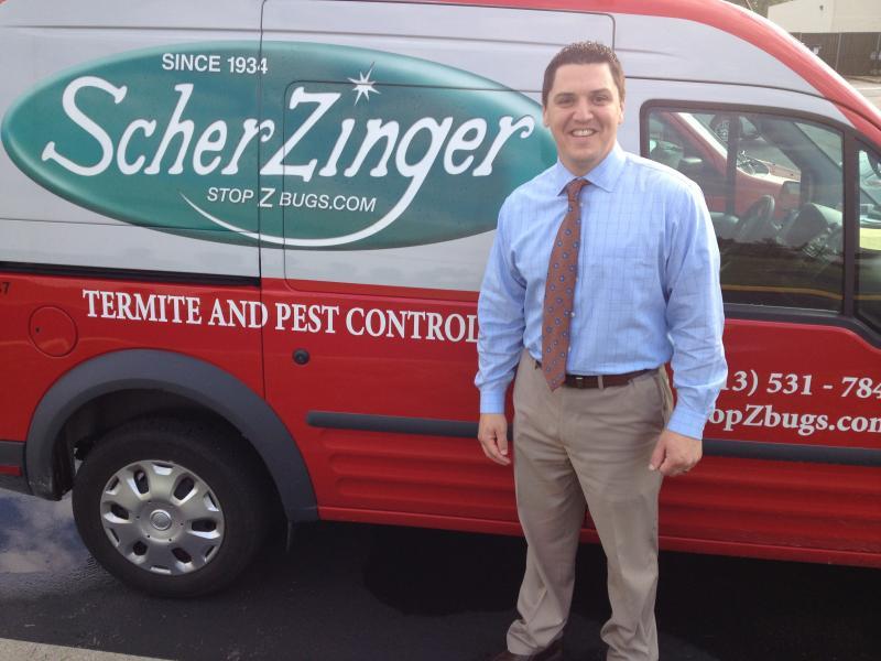 Kurt Scherzinger, general manager Scherzinger Pest Control