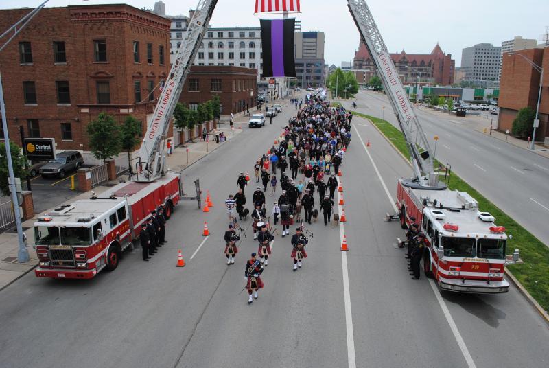 Cincinnati Police Memorial Day 2013