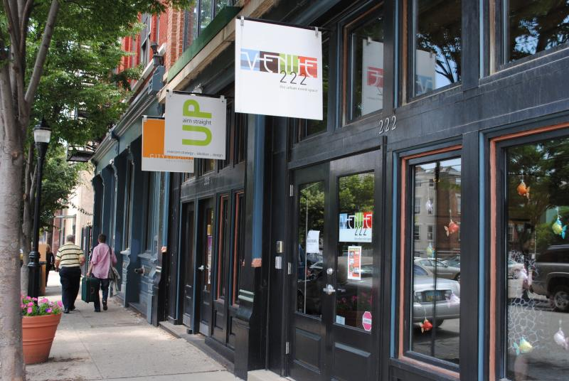 Located on the corner of 14th Street and Sycamore Ave., Venue 222 is the heart of the city
