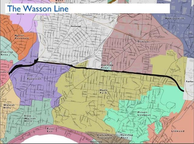 The Wasson Way railroad line