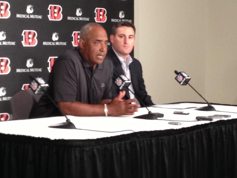 Coach Marvin Lewis and NFL Films producer Ross Ketover talk about the Bengals latest go around with Hard Knocks.