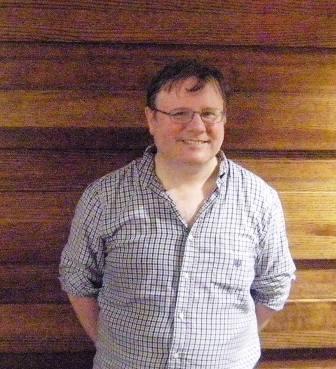 Brian Powerss, of the Cincinnati Public Library