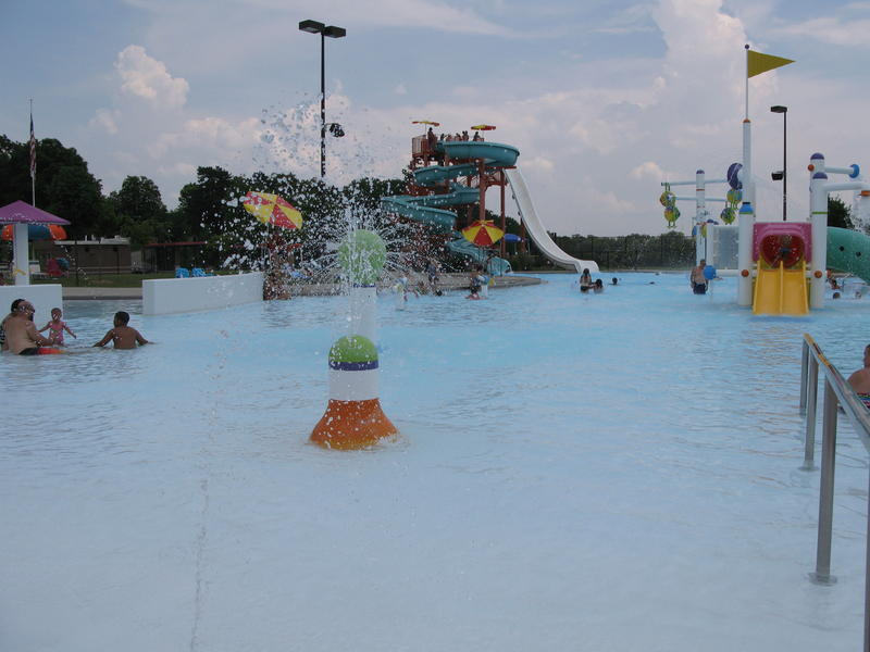 More than 500 people visit the pool at Dunham Recreation Center daily.