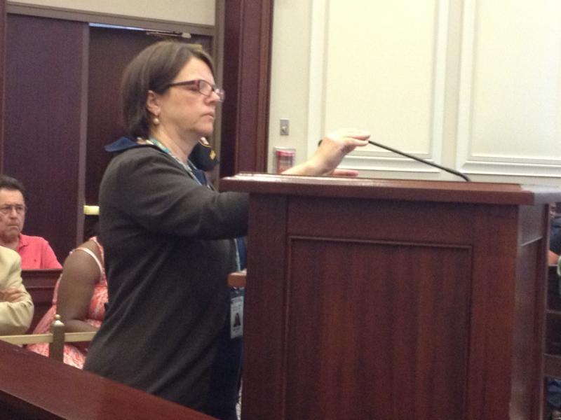 """BOE Director Amy Searcy said this incident is """"heartbreaking because she was one of our own."""""""
