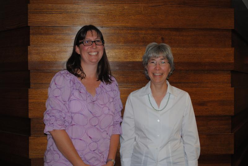 Jennifer Kramer and Carol Mundy for Ohio Vallery Greenmarket