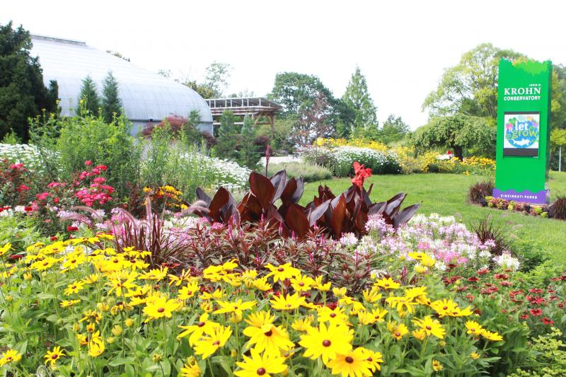 """Krohn Conservatory opens """"Let It Grow"""" featuring sustainable gardens."""