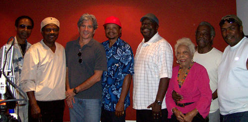 Jimmy Railey, Otis Williams, Larry Nager, J.J. Peterson, Rufus Allen, Juanita Paul, Philip Paul and Keith Little