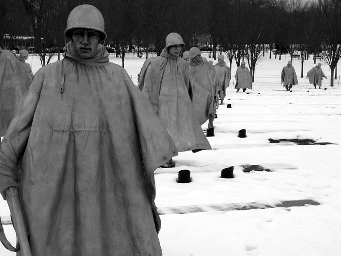National Korean War Memorial, Washington, DC