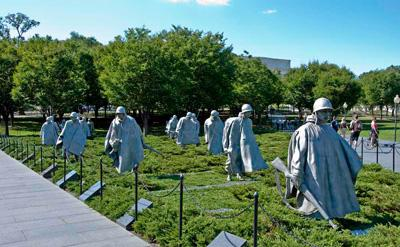 The National Korean War Memorial