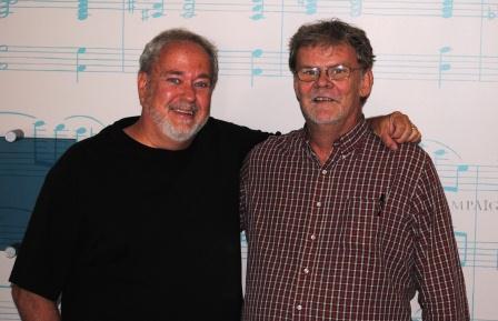 Former Enquirer workmates Jim Borgman and Howard Wilkinson