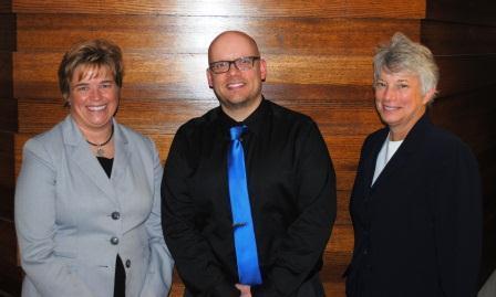 Andrea Milani, Jason Ashbrook and Janice Urbanik