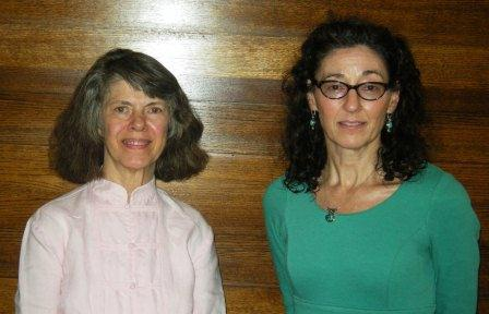 Dr. Barbara Arrighi and Dr. Linda Dynan