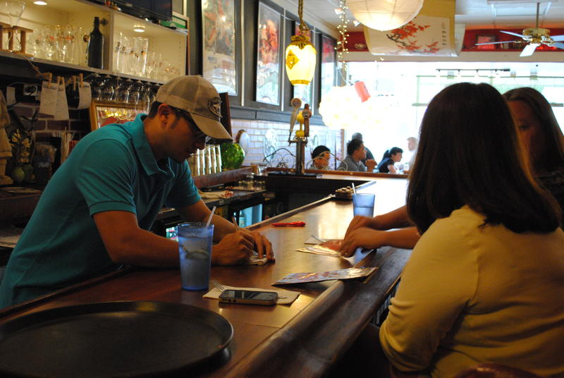 Johnnyi Chu, General Manager of KungFood Amerasia makes suggestions for a great lunchhtime meal