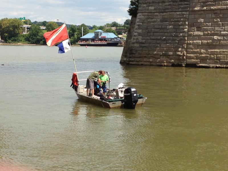The Cincinnati Fire Department has hired Environmental Solutions & Innovations to survey the mussel concentration before it builds two new docks.