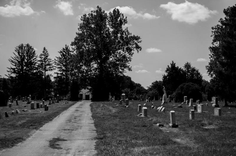 Union Baptist Cemetery, home to African-American Civil War heroes.