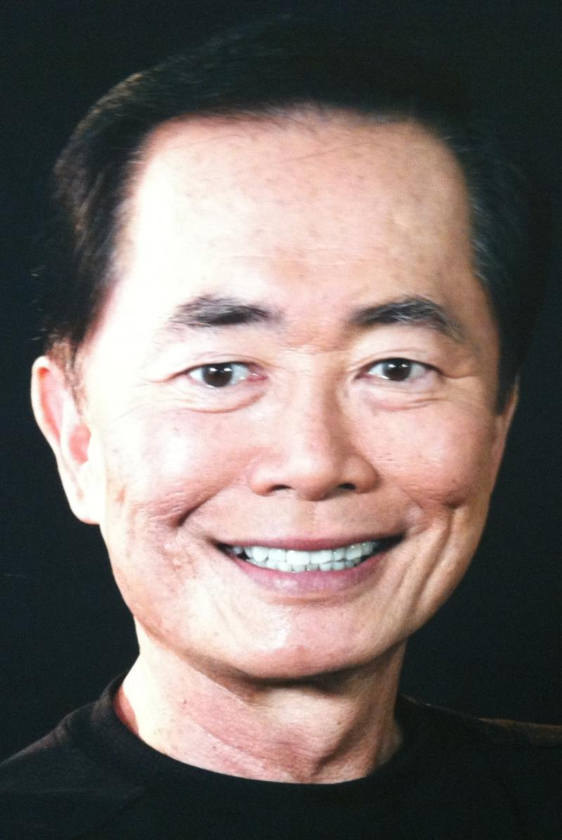 Actor George Takei, who be in Cincinnati in September for Oktoberfest