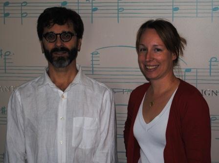 Jim Uber and Tana Weingartner