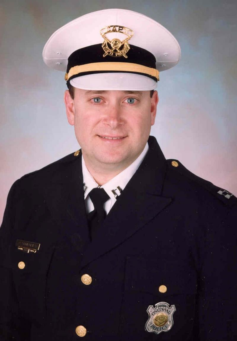 Interim Cincinnati Chief Paul Humphries