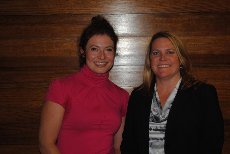 Cara Stewart and Kate Keller