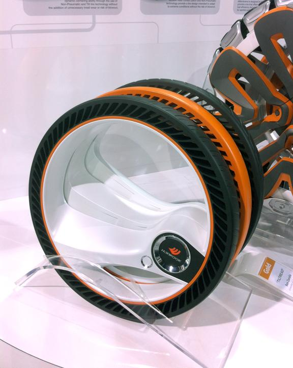 Hankook is getting a patent on TilTread.