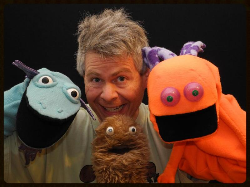 Image result for wump mucket puppets