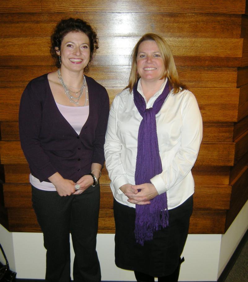 Cara Stewart and Kathryn Keller