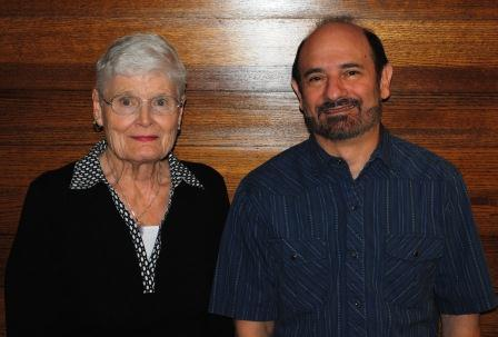 Mary Fitzpatrick and Michael Goldman of the Charter Committee