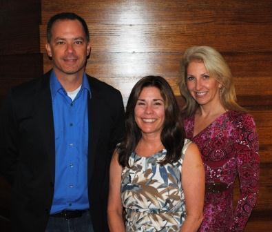 Kevin Finn, Debbie Demarcus and Dr. Tracey Skale