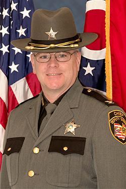 Chief Deputy Mark Schoonover
