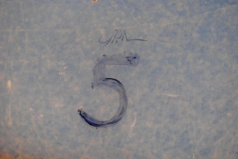 I chose to mark the '5 hole'