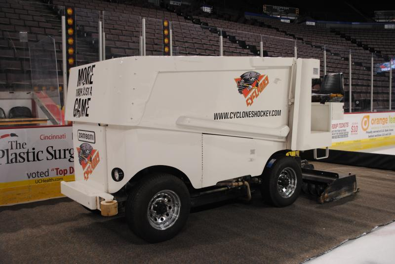 Everyone's favorite - the Zamboni