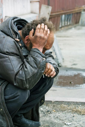 Over a third of city's homeless suffer mental illness
