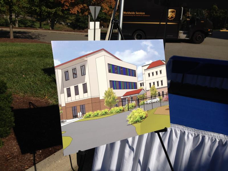 This is a rendering of the College Hill Campus expansion.