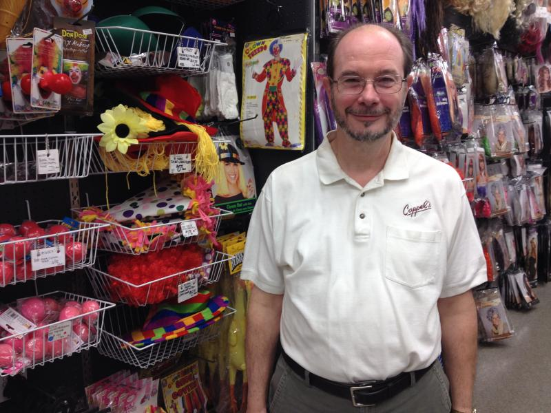 Co-Owner of Cappel's, Ray Cappel, says customers are jazzing up their costumes with tech accessories.