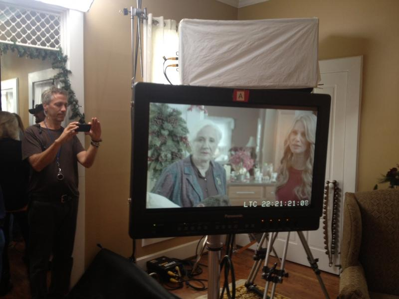 Christmas Spirit filming in Lebanon and Clifton with Olympia Dukakis and Nicolette Sheridan