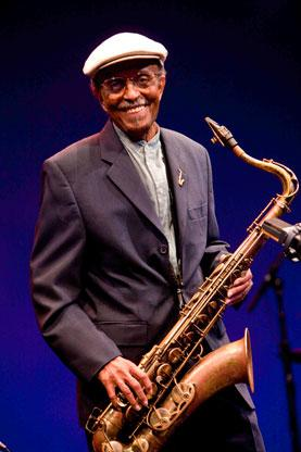 Saxophonist Jimmy Heath recently conducted a Master Class at SCPA on behalf of the Mayerson Family Foundation.