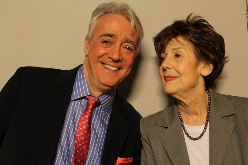 NPR's Scott Simon and his late mother Patricia Lyons Simon Newman.