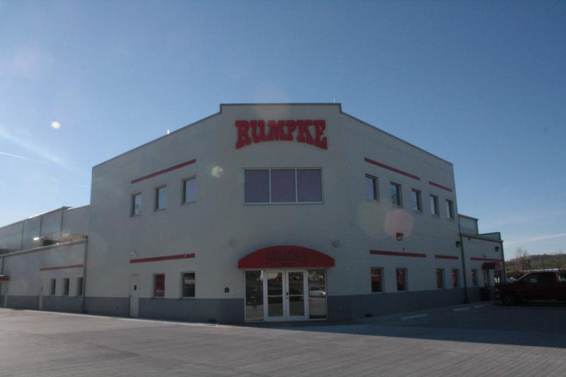 Rumpke's new sorting facility is one of the ten largest in the U.S.