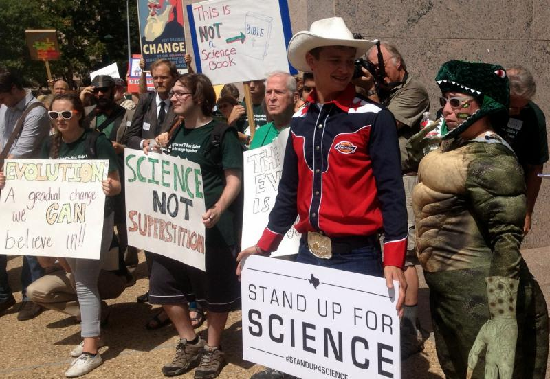 Rally in Texas fight for what should be taught in the classroom