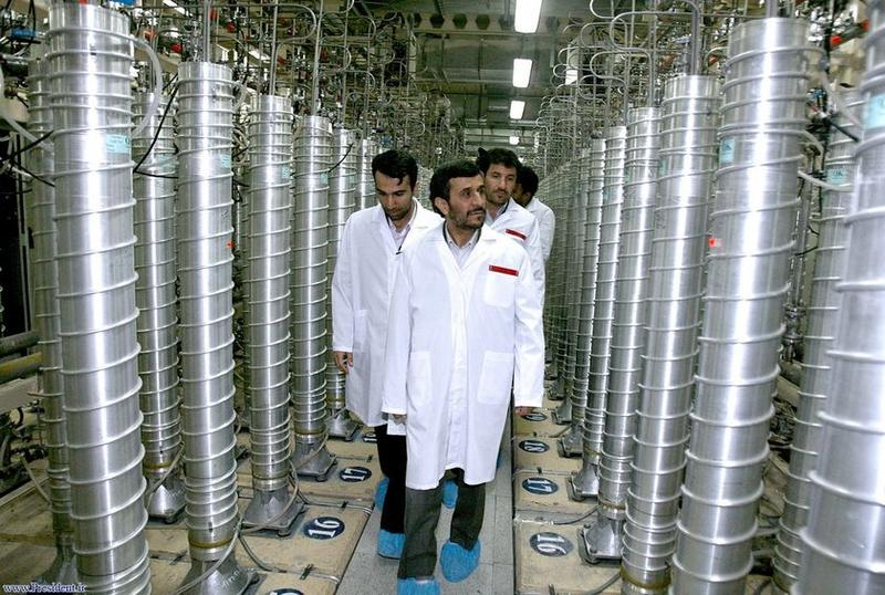 Iran has agreed to inspections of two key nuclear facilities. This picture shows former President Mahmoud Ahmadinejad.