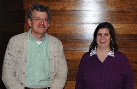 Intellectual Property Librarians John Schlipp and Linda Kocis