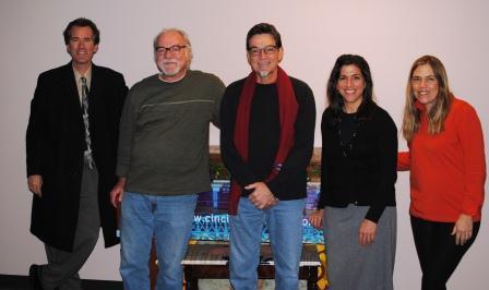 Michael Chertock, Brian O'Donnell, Charlie Fletcher, Denise Saker and  Julie Spangler